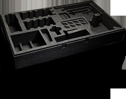 Transit Case Foam Design